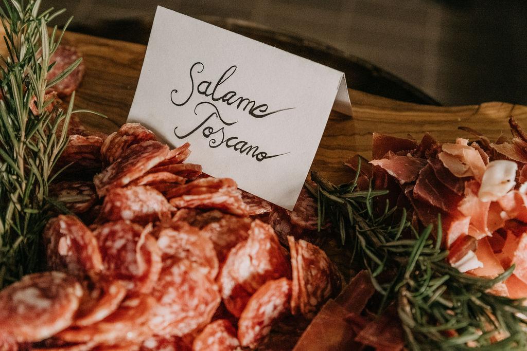 Ispoli & friends Aperitivo salami toscano
