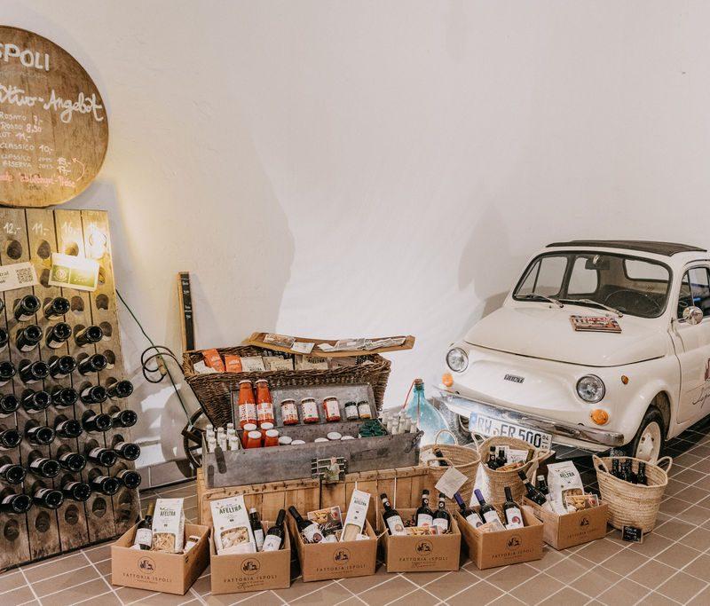Ispoli & friends Lagerverkauf mit Cinquecento