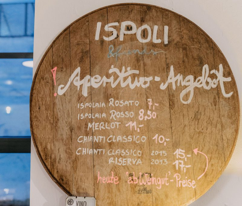 Ispoli & friends Aperitivo Angebot