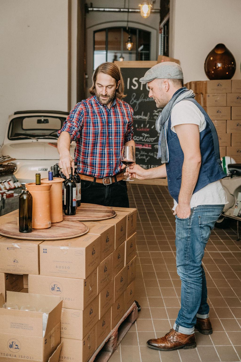 Ispoli & friends Aperitivo Individuelle Weinprobe